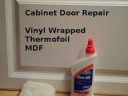 thermofoil cabinets repair. Repair Loose Vinyl Cabinet Door Edges And Thermofoil Cabinets