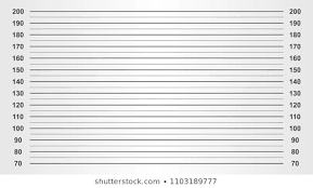 Download Free Png Mugshot Height Chart Images Stock Photos