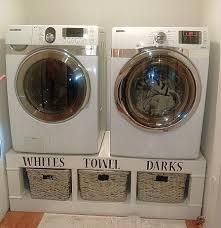 washer and dryer platform ana white sausha s washer dryer pedestals diy projects