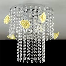 priscilla ceiling light ceiling lamp chrome with crystals modern design