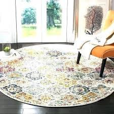7 round area rugs round rug 7 7 round area rug bohemian vintage cream multi distressed