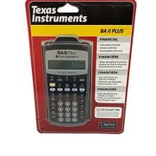 Financial Calculator Financial Calculator Baii Plus Texas Instruments Advanced Financial Business Calculator