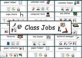 Printable Classroom Job Chart Tures Bedowntowndaytona Jobs