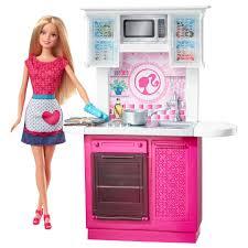 Barbie Kitchen Furniture Barbie Doll And Kitchen Furniture Set Toysrus