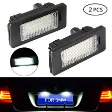 Bmw X5 License Plate Light Replacement Amazon Com License Plate Light Lenses Umiwe Number Plate
