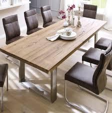 Esszimmer Holztisch Massiv Contemporary Sofa Dining Tables