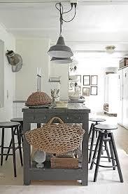 kitchen lighting over island. We Love The Vintage Pendant Lighting Over Wide Board Island Kitchen