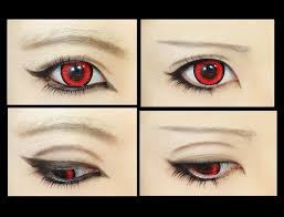 anime eyes makeup tutorial for kids