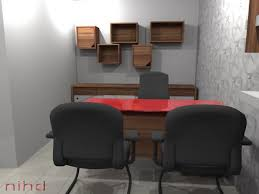Office designs pictures Futuristic Small Office Design Luxury Antonovich Design Small Office Design When Every Inch Counts Office Layouts