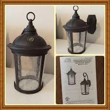 altair lighting outdoor led lantern w arm kit 880 lumen model altair 950 2149 excellent e