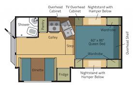eagle cap truck camper model 850 camper floor plan 2015 eagle cap 850