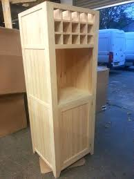 Cupboard Wine Rack Free Standing Oven Housing With Or Modular Unit B And Q  Base Wall ...
