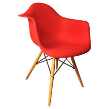 c2a design eiffel red accent chairs