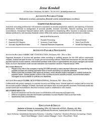 Accounts Payable Resume Sample India sample resume for accounts payable clerk Yenimescaleco 2