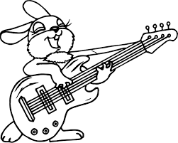 Small Picture Coloring Pages Guitar