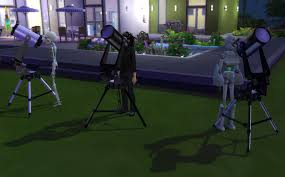 Observatory sims 4
