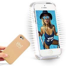 Iphone 7 Plus Light Up Selfie Case Amazon Com Kimi Selfie Light Iphone 7 Plus Case Fashion
