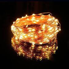 100 leds 10m solar string lights fairy lights outdoor lighting waterproof for garden tree led strip light in lighting strings from lights