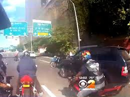 Nyc Motorcycle Attack Update One Suspect In Road Rage