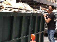 is this something you would do yes dumpster diving for makeup is  dumpster diving for decor john gidding