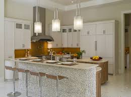 modern pendant lighting kitchen. square pendant light kitchen modern with bar sink beige countertop lighting l