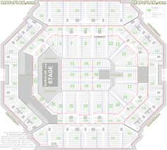 Barclays Center Brooklyn Detailed Seat Numbers Concert