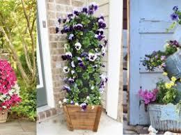 patio gardening. 14 dramatic diy flower tower ideas | garden · patio gardening