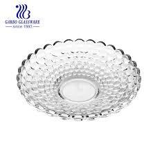 classic round shape glass fruit bowl gb1712yd 1