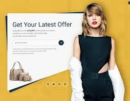 Fashion Banner Women Fashion Banner Creative Headers Website Banner On