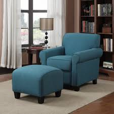 accent arm chair with ottoman. amazing accent chair decorating ideas blue fabric arms sofa ottoman round brown wooden end table arm with