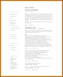 Visual Merchandising Resume Resume For Visual Merchandiser Fashion ...