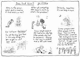 fairfax photos michael leunig cartoon strip does god exist an  michael leunig cartoon strip does god exist an essay