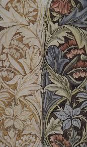 History Of Fabric Design File Morris Bluebell Printed Fabric Design Detail Jpg