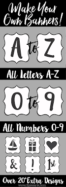 printable welcome home banner template free printable letters for banners printable banner letters