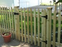 Building A Picket Fence Gate Fence Gate Garden Arbor Gate Diy Picket