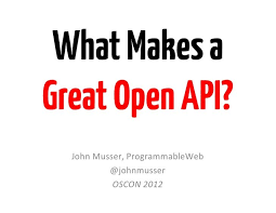 slideshare api what makes a great open api by jmusser via slideshare twilio call