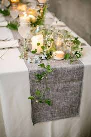 26 Ridiculously Pretty & Seriously Creative Wedding Table Runners Ideas  You're So Gonna Want