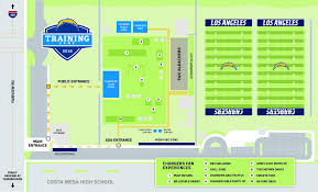 Los Angeles Chargers Seating Chart What Chargers Fans Can Expect At Training Camp In Costa Mesa