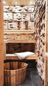 birchbark in sauna Finland