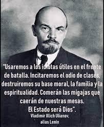 """Claudia 🕉 BotDeJAK 📿 on Twitter: """"Tal cual lo dijo Lenin, el comunismo ☭  los quiere ignorantes! #NoMasPSU… """""""