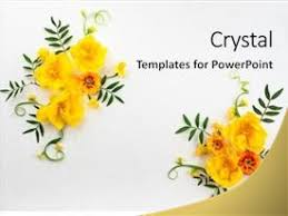 Flower Powerpoint Flower Powerpoint Templates W Flower Themed Backgrounds