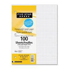 Five Star Graph Paper Notebook West Coast Office Supplies Office Supplies Paper