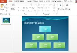 Powerpoint Hierarchy Templates Hierarchy Diagram Powerpoint Template