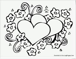 Small Picture Free Printable Heart Coloring Pages For Kids New glumme