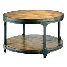 coffee table black wood round wood coffee table with black metal legs