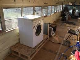 Small Picture RV washerdryer installed tiny house school bus conversion