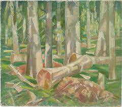 roy de maistre forest landscape