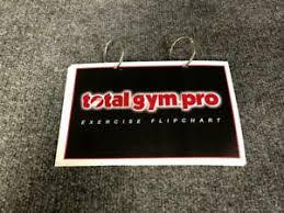 Details About Total Gym Pro Workout Flip Chart