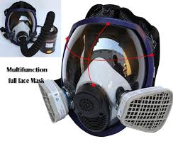 updated full face mask for 6800 gas mask full face facepiece respirator for painting spraying free in party masks from home garden on