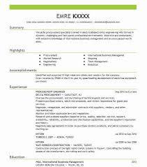 Procurement Engineer Resume Sample Engineering Resumes